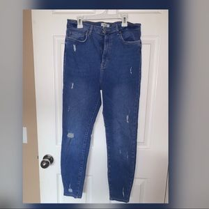 Forever 21 distressed skinny jean